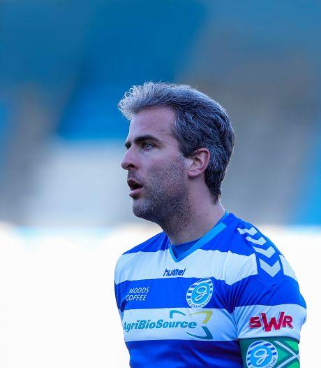 Ralf Seuntjens begrijpt dat zijn aanvoerdersband is afgepakt: 'Maar ik blijf alles geven voor De Graafschap'