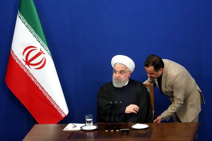 Le président iranien Hassan Rohani