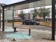 Verkeersborden en bushokje vernield in Alphen, ook ruit van een woning ingegooid