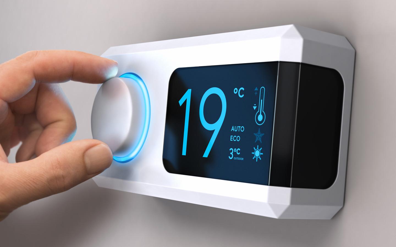 Een slimme thermostaat