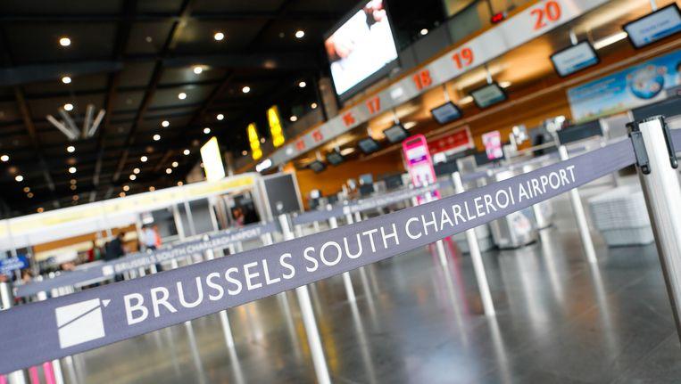 De luchthaven van Charleroi.