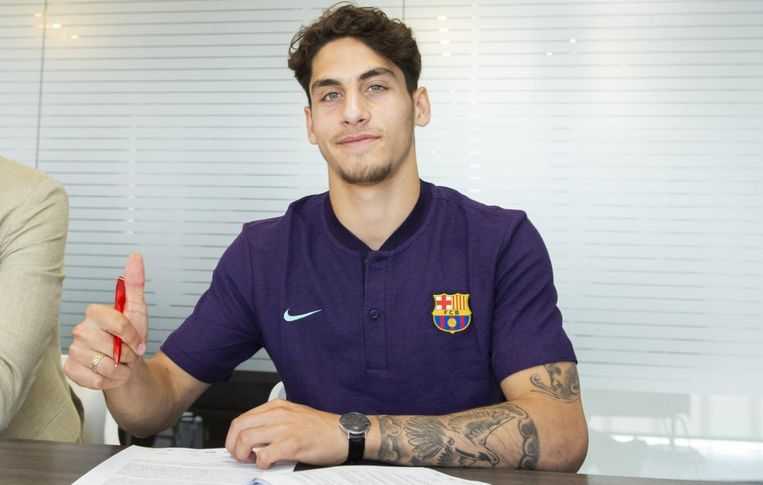 Ludovit Reis is van FC Barcelona.