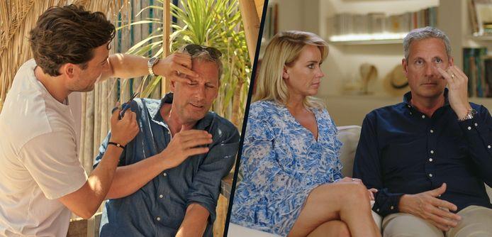 """Gert Verhulst vertrouwt zoon Viktor voor geen haar: """"Ga je hier mijn wenkbrauwen knippen?"""""""