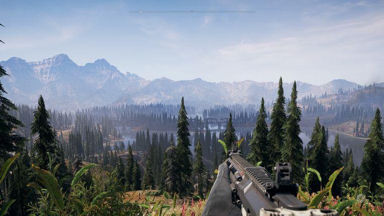Het uitzicht is prachtig.