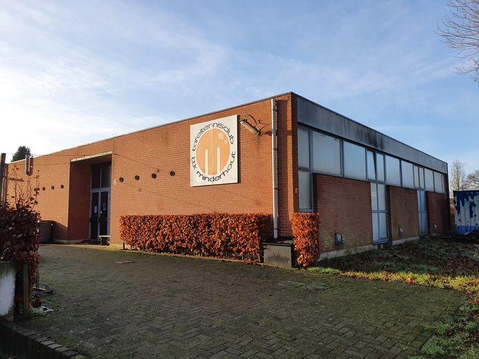 De noodkerk van Minderhout wordt gebruikt door TTK Minderhout.