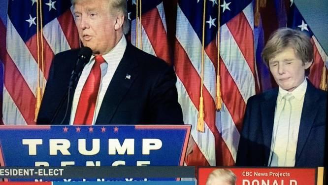 Même le fils de Trump a l'air de craindre l'avenir