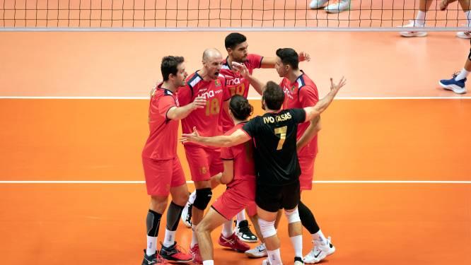 Volleyballers in achtste finales EK tegen Portugal