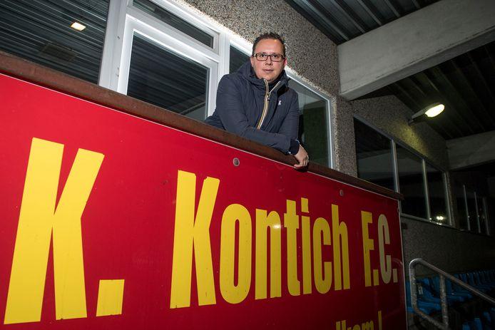 Voorzitter Wim Claes is bijzonder blij dat Beerschot ook dit jaar naar Kontich afzakt.