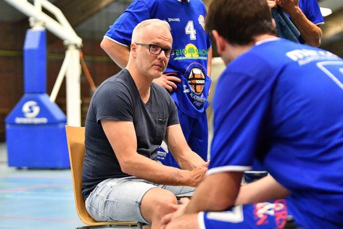 Coach Dieter Dillen kijkt net als zijn spelersgroep uit naar de eerste thuismatch, dan prijkt Asse-Ternat op de affiche.