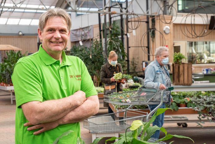 Hendrik-Jan Verheijen van tuincentrum De Landerije in Roosendaal.