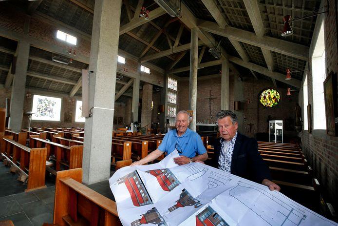 Jaap Smits uit Dussen en Henri van der Meijden uit Almkerk, de initiatiefnemers.