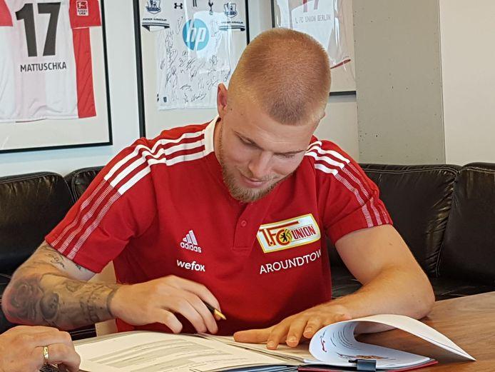 Rick van Drongelen zet zijn handtekening onder een driejarig contract bij 1. FC Union Berlin.