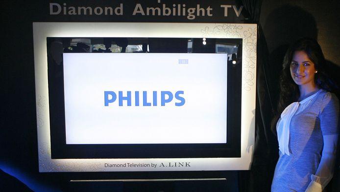Presentatie van de Philips Ambilight in 2007
