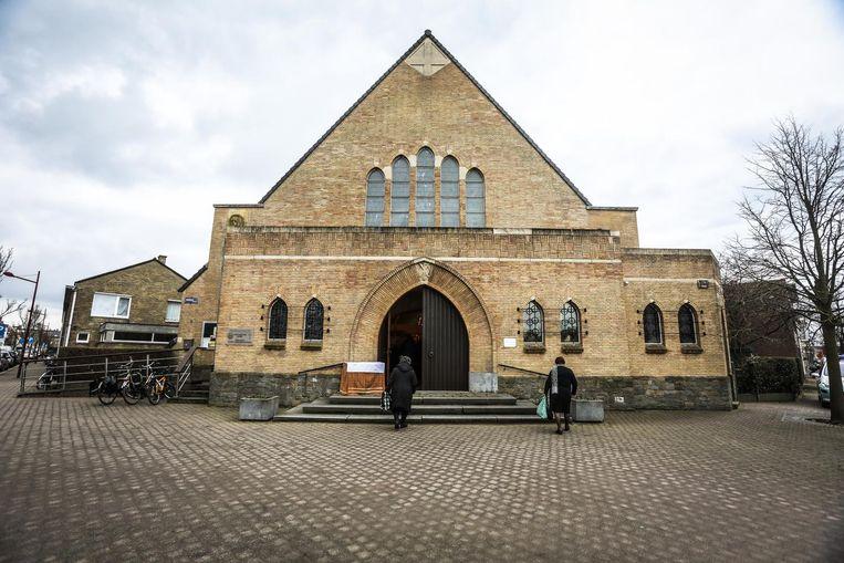 De kerk in de Goedheidstraat.
