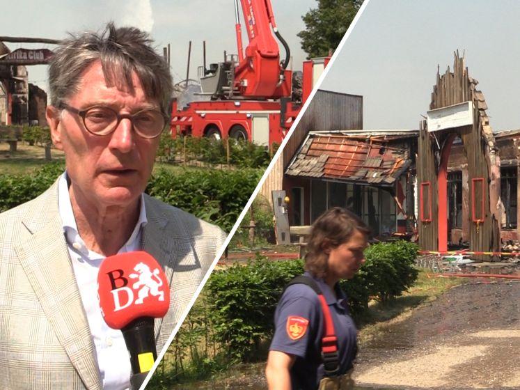 Beekse Bergen neemt schade op na verwoestende brand: 'Krijg tranen in m'n ogen'