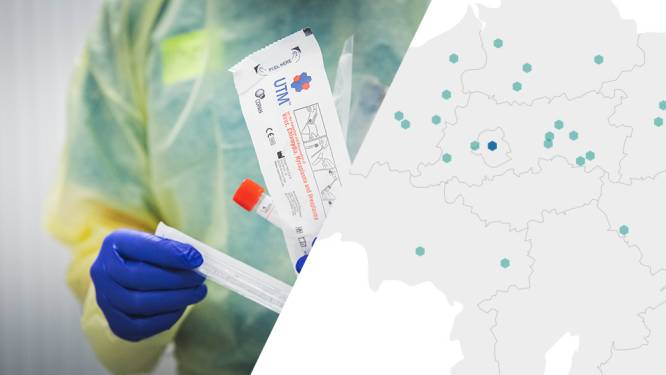 IN KAART. Dit weten we over de 59 nieuwe coronabesmettingen in België