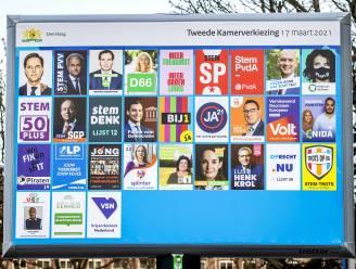 Heel wat coronaregels in het stemlokaal bij parlementsverkiezingen Nederland