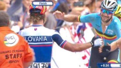 """Koers kort: Sagan reageert op uithaal Boonen - Gilbert: """"Druk ligt bij anderen"""" - Van Avermaet: """"Altijd een beetje geluk nodig op de kasseien"""""""