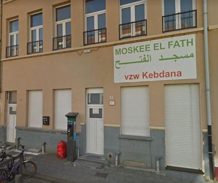 De El Fath-moskee in de Ranststraat in Borgerhout.