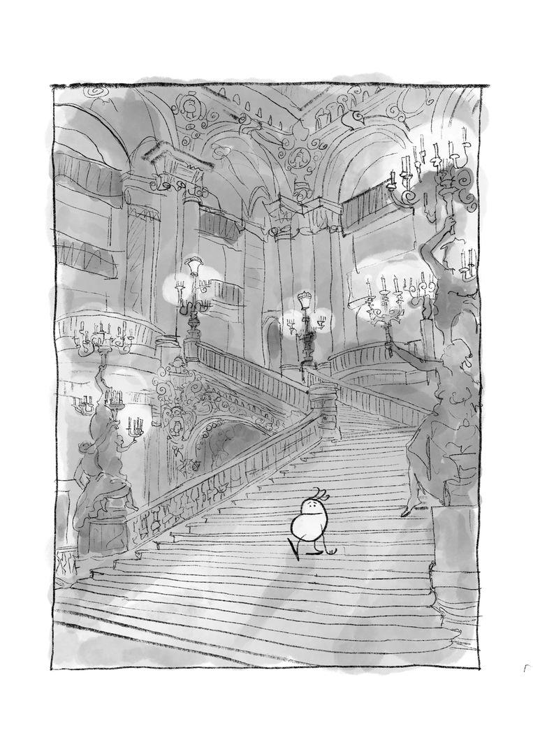 'Aardappel in het Palais Garnier', door Thomas Beijer Beeld Thomas Beijer