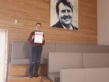 Sebastian (10) is de nieuwe kinderburgemeester van Zeist