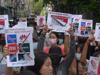 Opnieuw dertien doden bij protesten in Myanmar