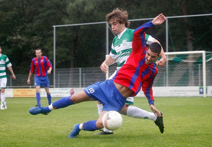Michel Leon Payo in 2010 als speler van Brabantia tegen Nuenen.
