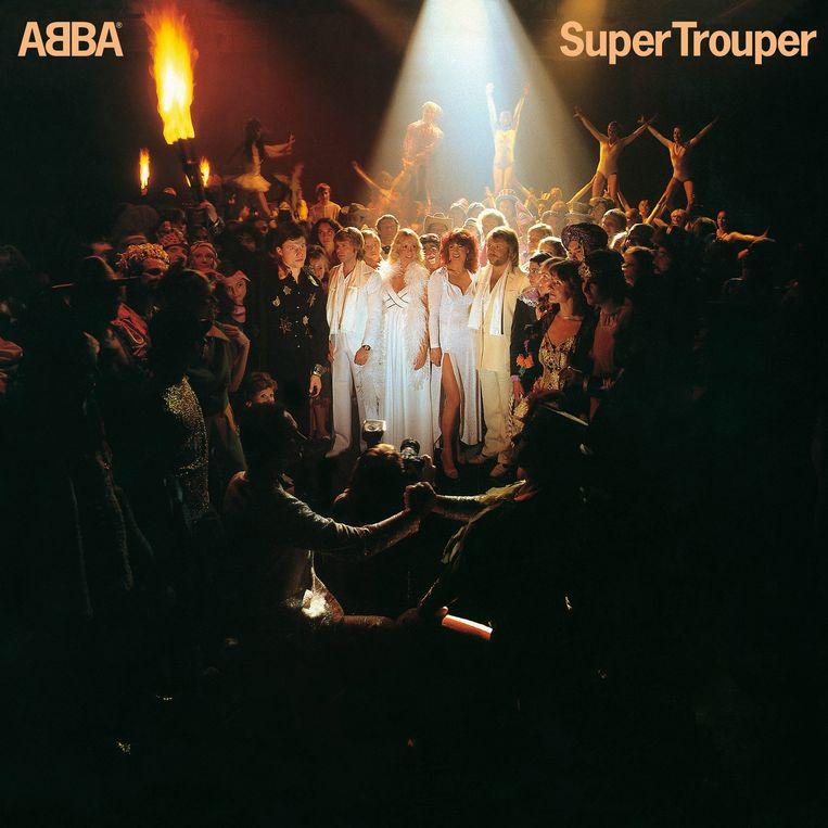 Super Trouper, het zevende album van Abba, verscheen in het najaar van 1980. Beeld -