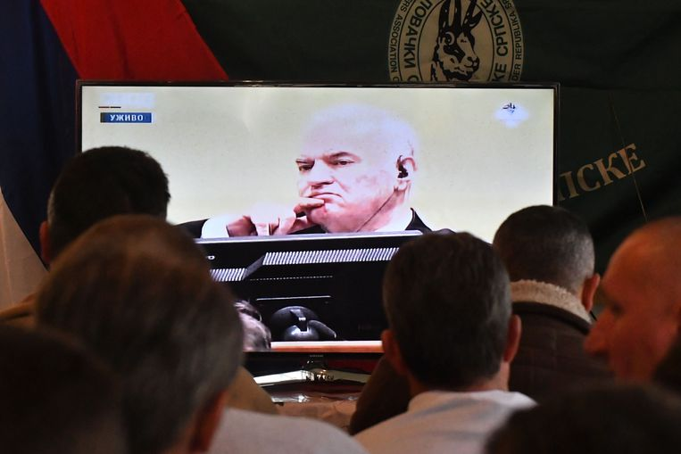Ratko Mladic. Beeld AFP