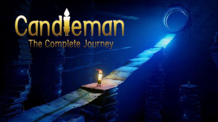 Een wandelende kaars speelt de hoofdrol in Candleman. Beeld Zodiac Interactive