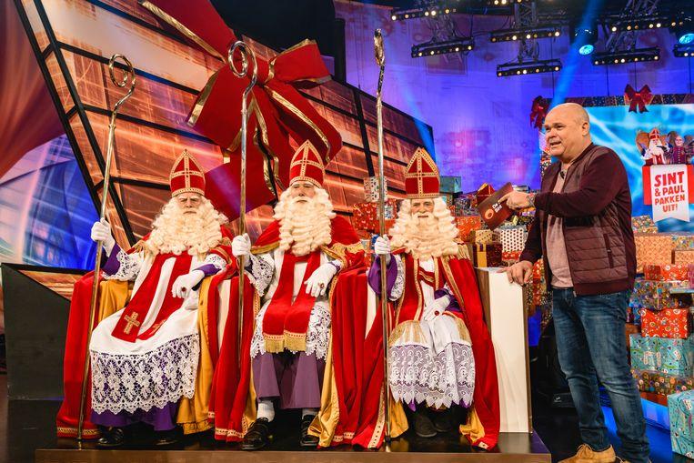 'Sint & Paul Pakken Uit!' op RTL 4. Beeld RTL