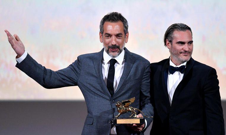In 2019 won Joker van regisseur Todd Phillips, met hoofdrolspeler Joaquin Phoenix, nog de Gouden Leeuw in Venetië. Dit jaar gaat het oudste filmfestival ter wereld begin september door. Beeld EPA
