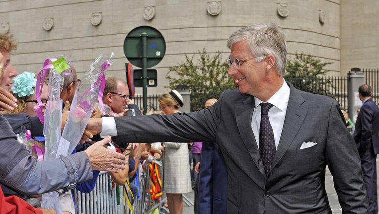 Koning Filip. Beeld PHOTO_NEWS