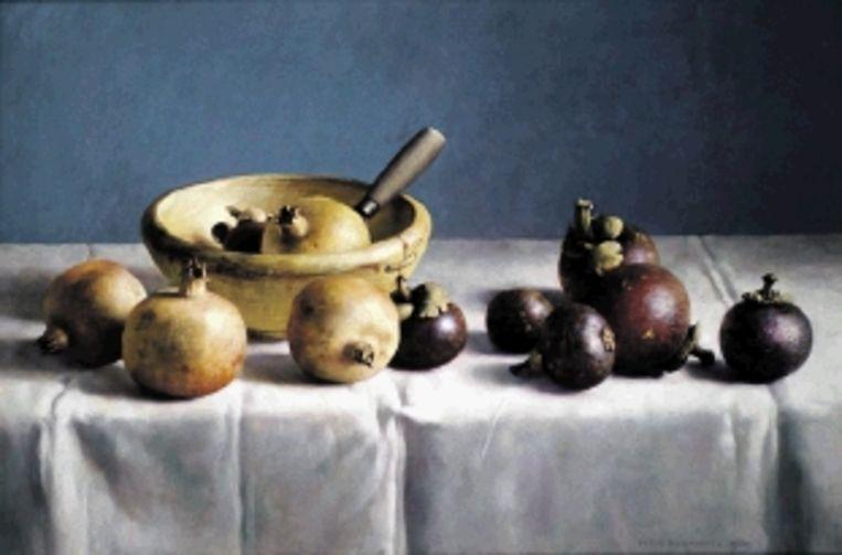 Henk Helmantel, Stilleven, 1989. (Trouw) Beeld