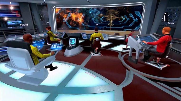 Star Trek: Bridge Crew. Beeld Ubisoft