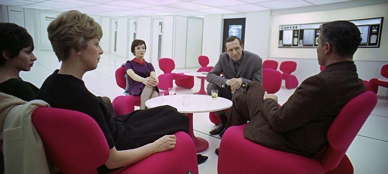 De Djinn Chair figureerde in 2001: A Space Odyssey uit 1968  Beeld
