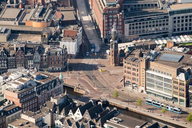 Het Rokin in Amsterdam. Beeld Hollandse Hoogte /  ANP