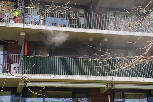 Flinke brand in appartementencomplex in Oss.