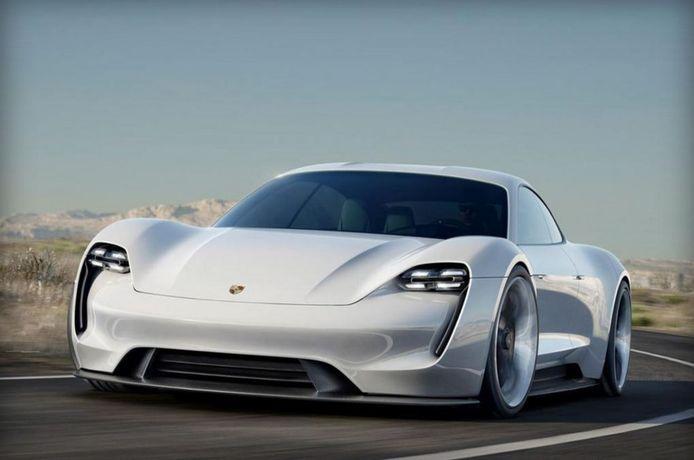 Zo moet de nieuwe Porsche Mission E er gaan uitzien.