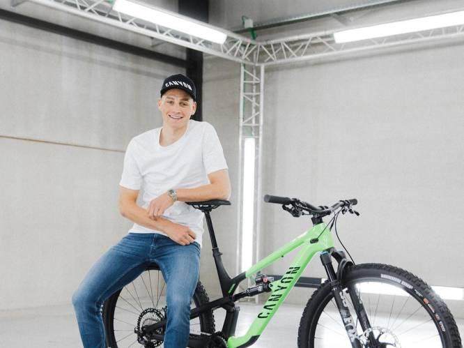 """Van der Poel start dit weekend aan de weg naar olympisch goud: """"Mountainbiken is een liefde geworden"""""""