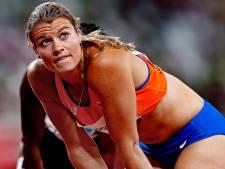 Dafne Schippers in tranen na roemloze aftocht op 200 meter: 'Dit is hard'