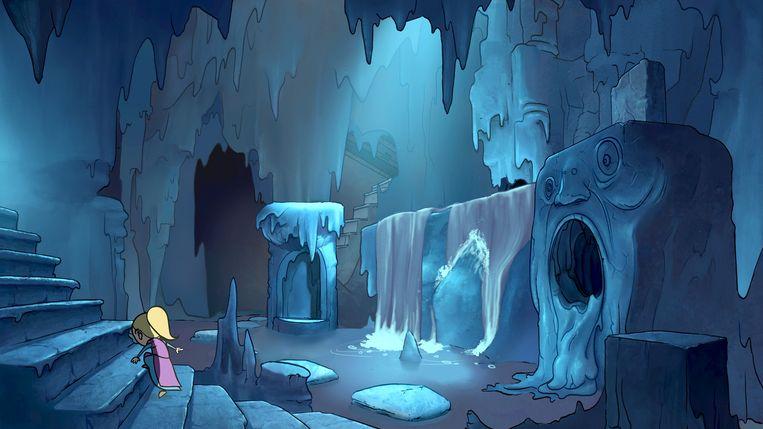 Qua tekenstijl en animatietechnieken doet 'Tsioque' vooral denken aan de films en games van legende Don Bluth. Beeld Ohnoo Studio