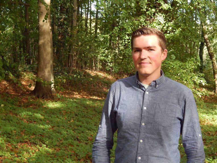 Klimatoloog en geograaf Samuel Helsen (KU Leuven).  Beeld rv