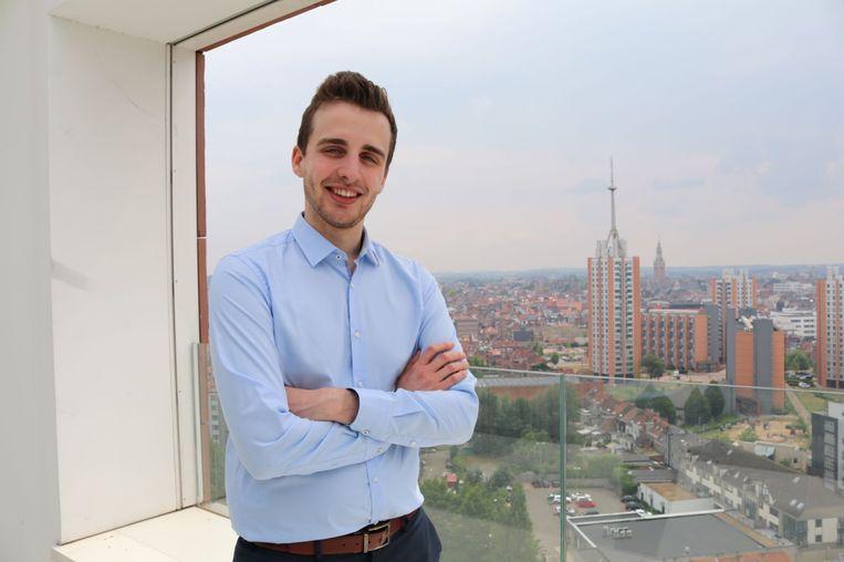 Arnout Van de Meulebroucke, CEO en stichter van  Phished, een bedrijf dat phishing bestrijdt. Beeld Phished