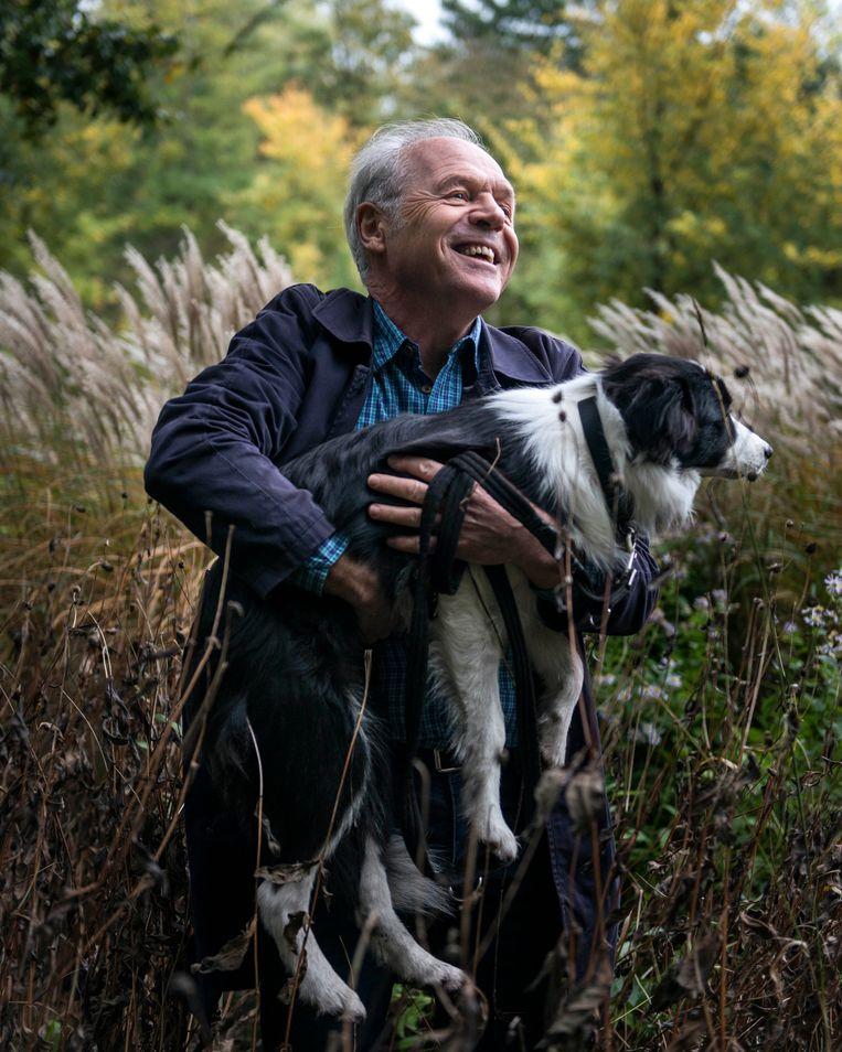 Rinke van den Brink: 'Redding kwam ook van mijn psychiaters. Ik wil met mijn boek laten zien hoe succesvol een psychiatrische behandeling kan zijn.' Beeld Eva Faché