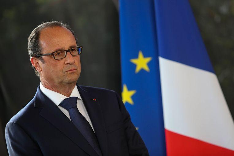 Frans president François Hollande. Beeld REUTERS