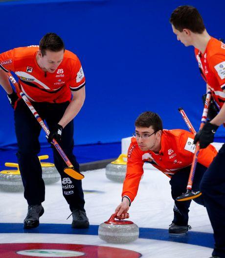 Olympische droom curlingmannen ver weg na zesde nederlaag op rij