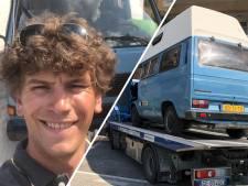 Gestolen camper pasgetrouwde Daan en Jorien uit Lochem geplunderd teruggevonden in Italië: 'Dit gaan we nooit meer vergeten'