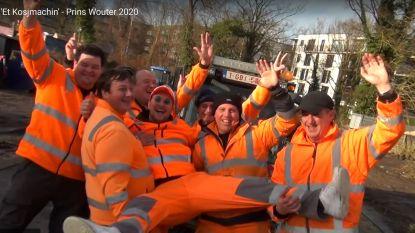 Prins Wouter heeft dé hit van Carnaval Halle 2020 beet: Ook de mannen van 't stad brullen 'Et kosjmasjin' mee