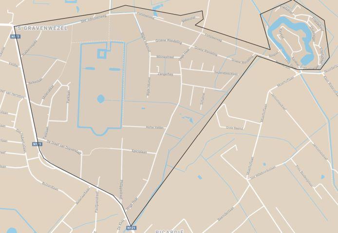 Het werkingsgebied van BIN Willecom